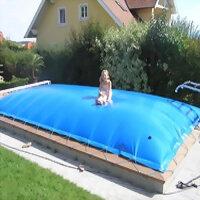 Aufblasbare Pool Abdeckung für Rechteckpool 750 x...