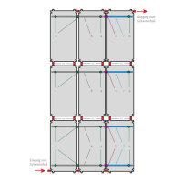 SET Solar Schwimmbadabsorber HelioPool® | 3 x 3 Stk...