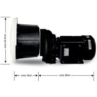Einbau Gegenstromanlage Neptun Compact 1200 | 400 V | 1200 Liter/Min. | für Einbautopf ABS
