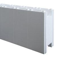 Rechteck Pool 700 x 350 x 150 cm EPS 30   Grund-Set   inkl.Vlies und Poolfolie blau   ausgebildete Ecken