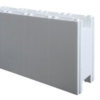 Rechteck Pool 600 x 300 x 150 cm EPS 40 | Grund-Set | inkl.Vlies und Poolfolie blau | ausgebildete Ecken