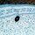 Frame Pool Rechteck 5,49 x 2,74 x 1,32 m   Außen hellgrau, Innen blau Mosaik